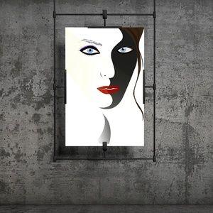 Beautiful lips - Graphic Design Illustration